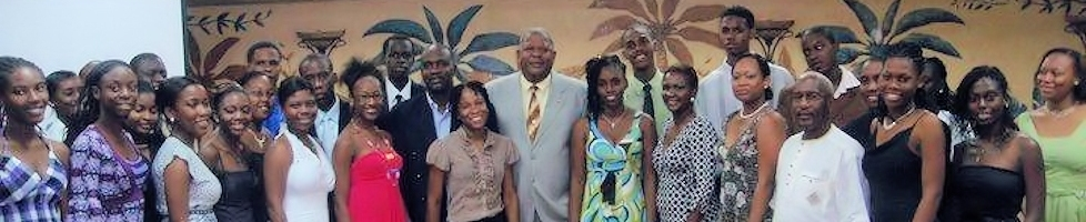 Grenada Students engaging the CSME (meeting Prime Minister Baldwin Spencer)